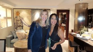 With lifelong friend (Kim) in our Vancouver kitchen.