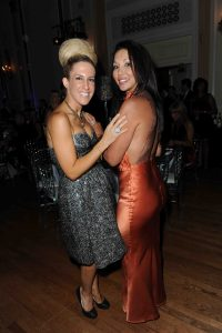Ann Kaplan and Vanessa Mulroney at the Fashion Cares event.
