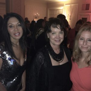 Ann Kaplan with Diane Francis and Carolyn Lawrence - an honour to be named Canada's Woman Entrepreneur of the Year.