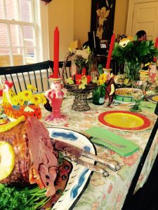 Bright, colourful and festive of the occasion...Easter is a big event in our home.