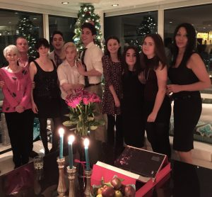With family (and cousins) for Christmas in our Vancouver Home.