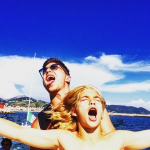 """These boys had so much fun - the Amalfi Coast is captivating."""