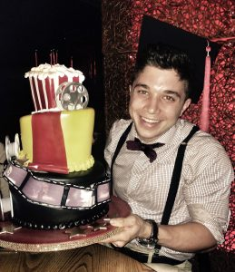 """""""Keaton - a degree well deserved. On his way to getting a second masters degree (think 'job')."""""""